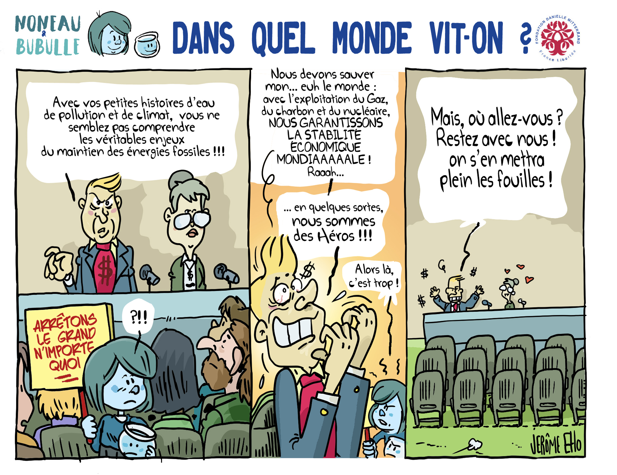 Dans quel monde vit on - Jerome Eho