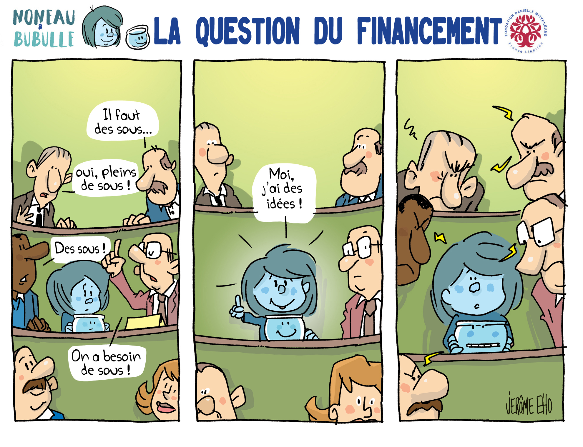 la question du financement - Jérome Eho