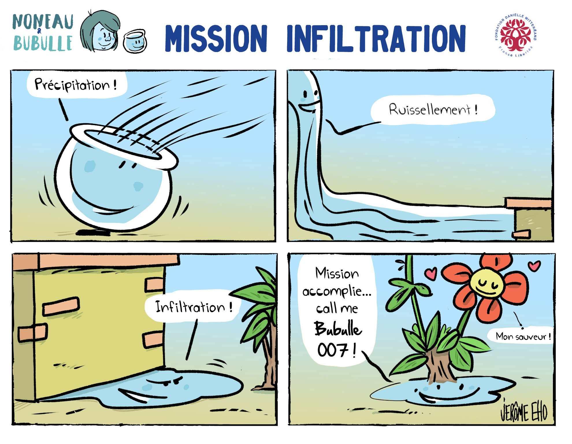 Mission infiltration - Jérôme Eho
