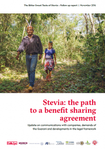 Stevia the path to a benefit sharing agreement