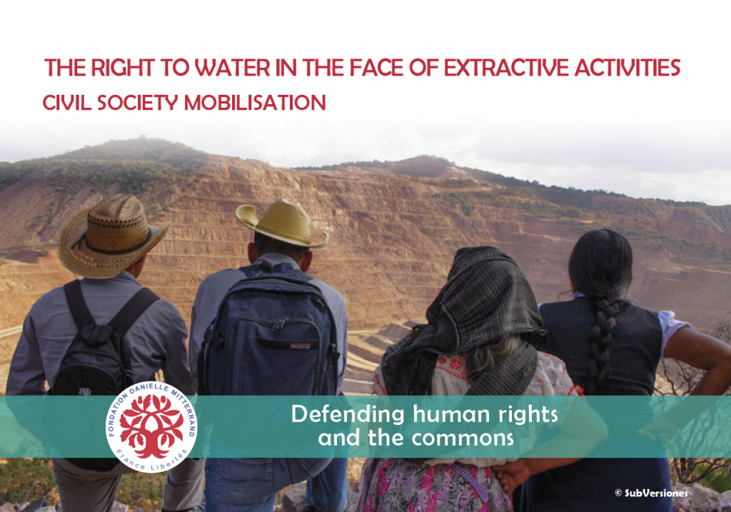 The right to water in the face of extractive activities